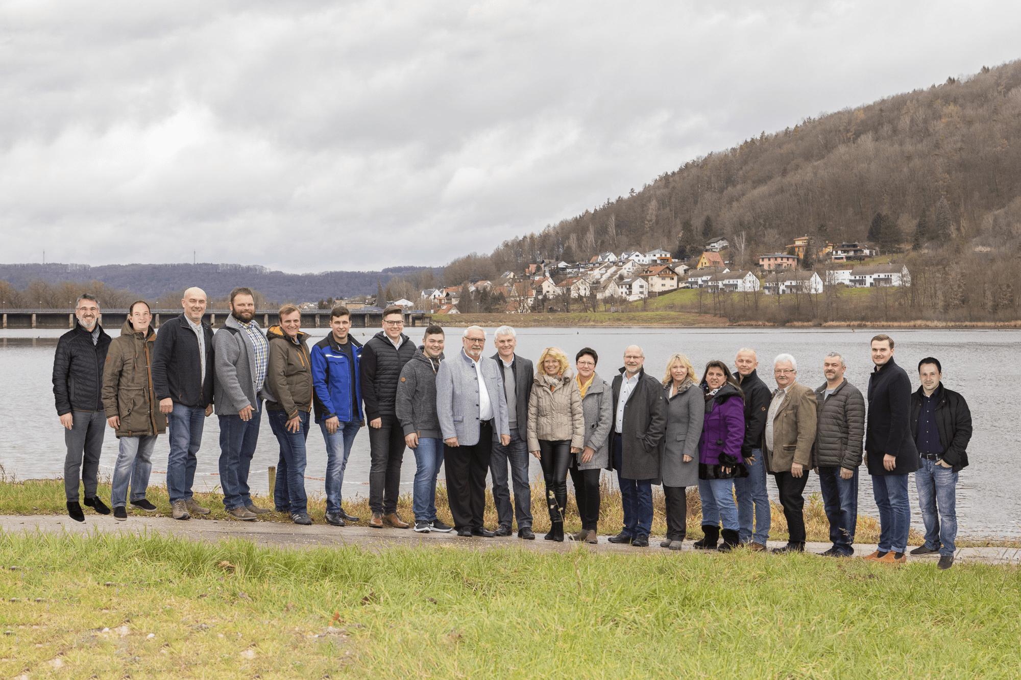 Vorstandschaft CSU Albachtal 2020