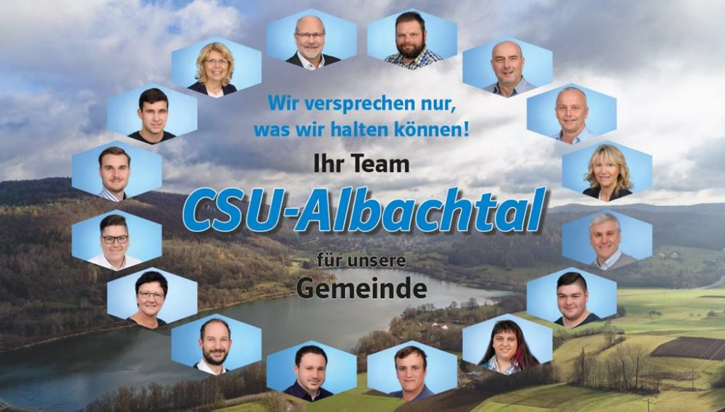 Gemeinderaete CSU Albachtal 2020